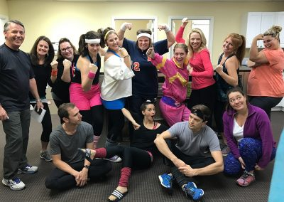 Crazy 80s Workout