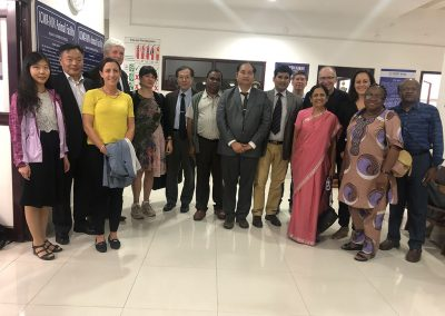 Rene with IUPHAR members in India