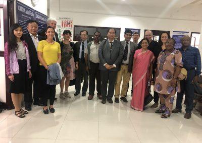 Rene with IUPHAR members in India